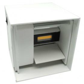 Feimefeiyou Lampu Hias Dinding LED Minimalis Aluminium 6W Warm White - MSL021 - White - 2