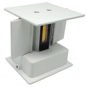 Feimefeiyou Lampu Hias Dinding LED Minimalis Aluminium 6W Warm White - MSL021 - White - 3