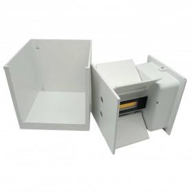 Feimefeiyou Lampu Hias Dinding LED Minimalis Aluminium 6W Warm White - MSL021 - White - 4