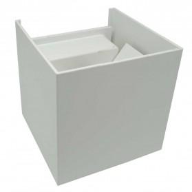 Feimefeiyou Lampu Hias Dinding LED Minimalis Aluminium 6W Warm White - MSL021 - White - 6