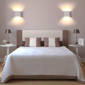 Feimefeiyou Lampu Hias Dinding LED Minimalis Aluminium 6W Warm White - MSL021 - White - 7
