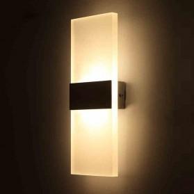 TaffLED Lampu Hias Dinding LED Corridor Light 3W 2700-3500K Warm White - F0011 - Black