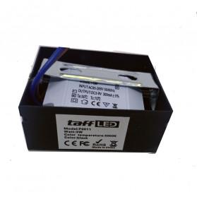 TaffLED Lampu Hias Dinding LED Corridor Light 3W 2700-3500K Warm White - F0011 - Black - 4