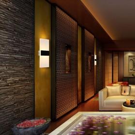 TaffLED Lampu Hias Dinding LED Corridor Light 3W 2700-3500K Warm White - F0011 - Black - 8