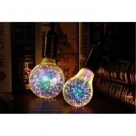 YNL Lampu Bohlam LED Dekorasi Fireworks 3D E27 220V 4W - ST64 - Mix Color - 4