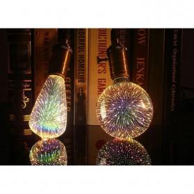 YNL Lampu Bohlam LED Dekorasi Fireworks 3D E27 220V 4W - ST64 - Mix Color - 5