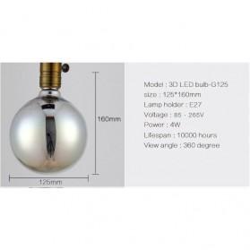 Lampu Bohlam LED Dekorasi Fireworks 3D E27 220V 4W - G125 - Mix Color - 2