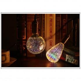 Lampu Bohlam LED Dekorasi Fireworks 3D E27 220V 4W - G125 - Mix Color - 3