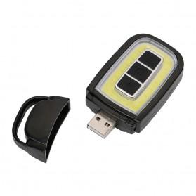 TaffLED Senter LED Model Kunci Mobil COB 450 Lumens - WY8118-ZL - Black - 2