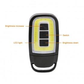 TaffLED Senter LED Model Kunci Mobil COB 450 Lumens - WY8118-ZL - Black - 3