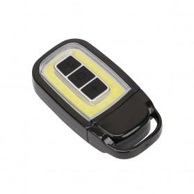 TaffLED Senter LED Model Kunci Mobil COB 450 Lumens - WY8118-ZL - Black - 4