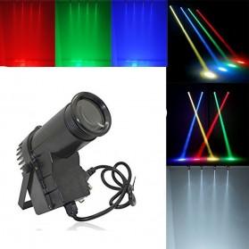 Illumsolid Lampu Sorot Panggung Spotlight DMX512 Sound System - YS-P01 - Black