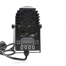 Illumsolid Lampu Sorot Panggung Spotlight DMX512 Sound System - YS-P01 - Black - 3