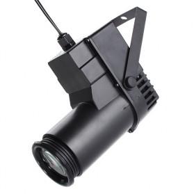 Illumsolid Lampu Sorot Panggung Spotlight DMX512 Sound System - YS-P01 - Black - 4