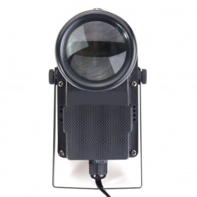 Illumsolid Lampu Sorot Panggung Spotlight DMX512 Sound System - YS-P01 - Black - 5