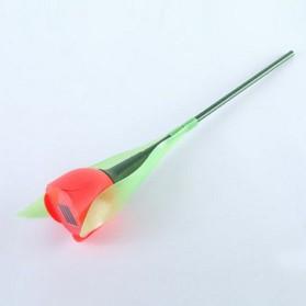 Lampu Taman LED Model Bunga Tulip Energi Solar Panel 1 PCS - GZ4 - Red