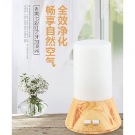 Taffware Humidifier Aromatherapy with Night Lamp RGB Light - HUMI H218 - White - 2