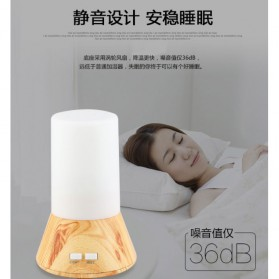Taffware Humidifier Aromatherapy with Night Lamp RGB Light - HUMI H218 - White - 4
