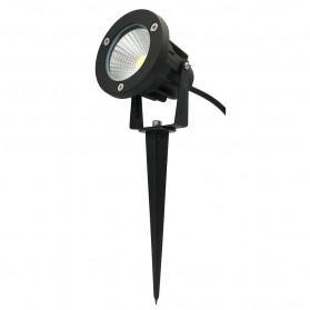 Lampu Taman Waterproof COB 7W 3000K - OL-LWCOB5W - Black