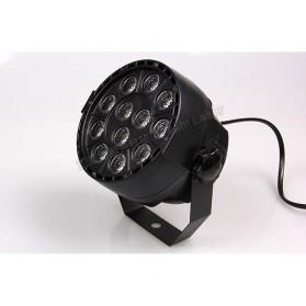 BleuFonce Lampu Sorot LED Par Light Dekorasi Ruangan dengan Remote Control - HY-W0712 - Black - 3
