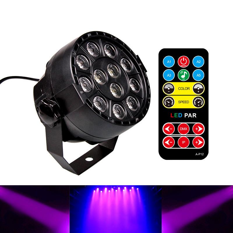 Lampu Sorot LED Par Light Dekorasi Ruangan Dengan Remote