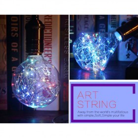 Lampu Bohlam Dekorasi RGB LED Bulb String E27 1.8W - Bottle - 4