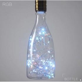 Lampu Bohlam Dekorasi LED Bulb String E27 1.8W - Bottle - Blue