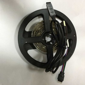Lampu Led Strip 5050 RGB with USB Controller 4M - Multi-Color