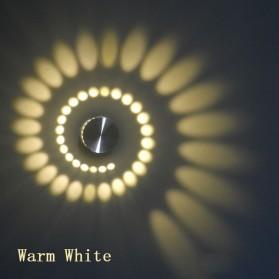 Lampu LED Modern Spiral Ceiling Light 3W - BD-20-LXX - Warm White
