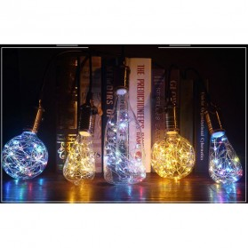 Lampu Bohlam Dekorasi RGB LED Bulb String E27 1.6W - ST64 - 3
