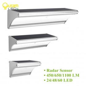 CHIZAO Lampu Solar Sensor Gerak Outdoor 24 LED 1.5W 450 Lm - HBT1612 - Silver - 2
