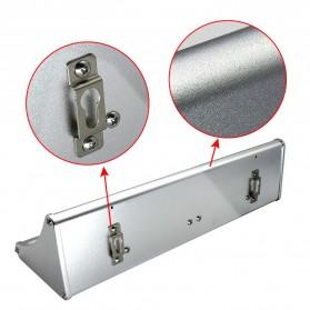 CHIZAO Lampu Solar Sensor Gerak Outdoor 24 LED 1.5W 450 Lm - HBT1612 - Silver - 6