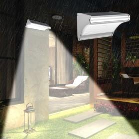 Lampu Solar Sensor Gerak Outdoor 48 LED 3.2W 900 Lumens - HBT1612 - Silver