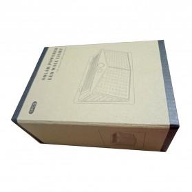 SINJIAlight Lampu Solar Panel Sensor Gerak Outdoor Waterproof 108 LED Warm White 1 PCS - SJ025 - Black - 11