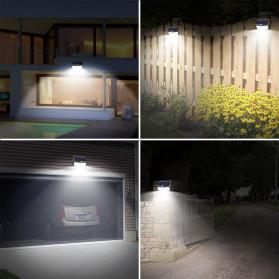 SINJIAlight Lampu Solar Panel Sensor Gerak Outdoor Waterproof 108 LED Warm White 1 PCS - SJ025 - Black - 3