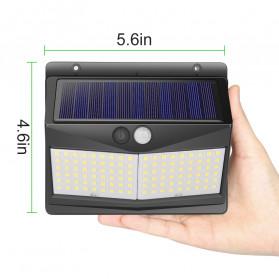 SINJIAlight Lampu Solar Panel Sensor Gerak Outdoor Waterproof 108 LED Warm White 1 PCS - SJ025 - Black - 5