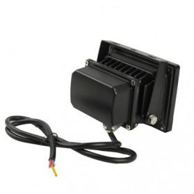 Lampu Sorot Waterproof LED Floodlight Lamp 12W 800-900 Lumens AC 85-265V 6000-6500k - Black - 2