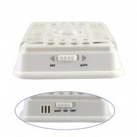 White Lamp PIR Auto Sensor Motion Detector Light 8 LED - L0803SER - Silver - 4