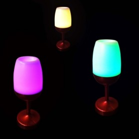 Colorful Touch Table Lamp - AA-SJ002 - Black