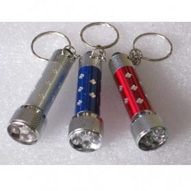 5 in 1 Laser Pointer Beam with Keychains - F-05 - White