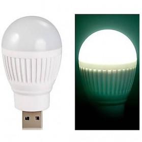 Lampu LED USB Bentuk Bohlam Mini - White - 2