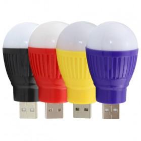 Lampu LED USB Bentuk Bohlam Mini - White - 3