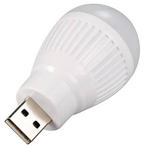 Usb Led Night Light Ball Bulb White Buy Usb Led Night Light Ball Bulb White Online At Best