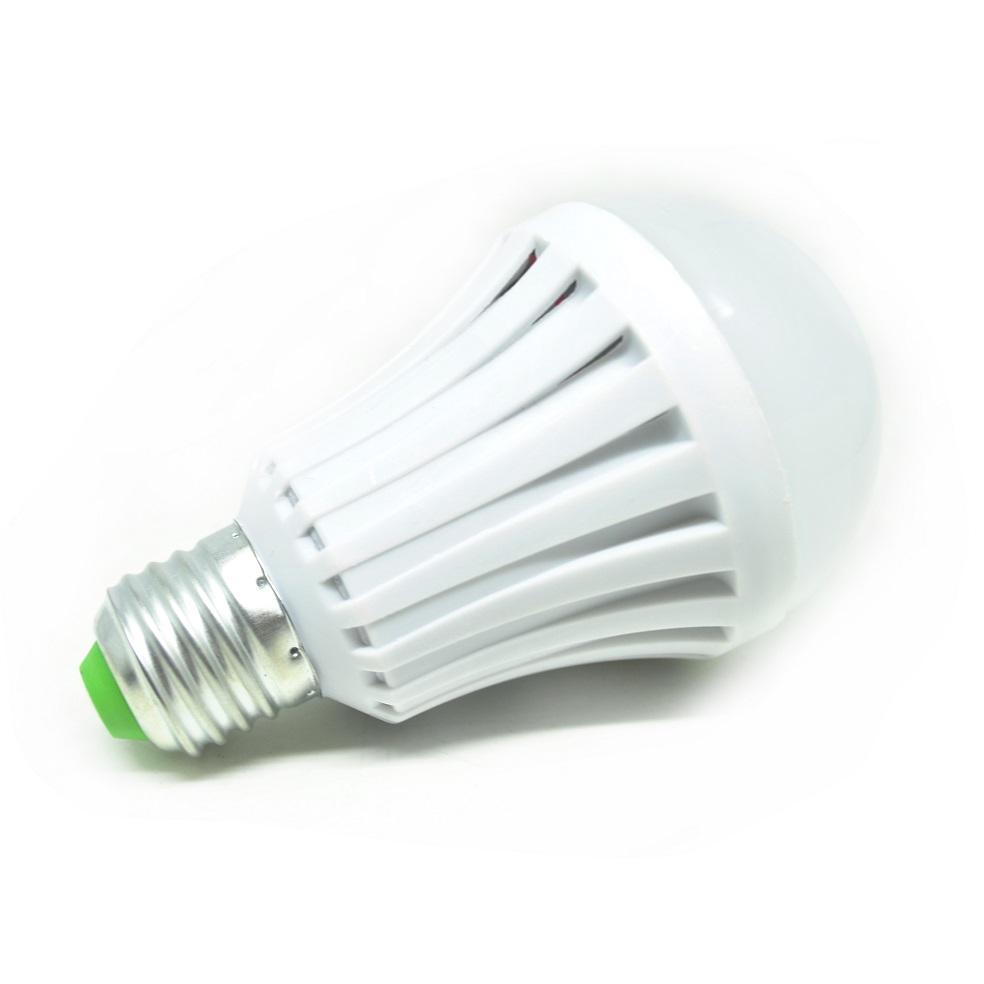 Taff Led Bulb Light E27 7w With Touch Sensor Lampu Bohlam Sentuhan Tidur 1 Watt Jari White