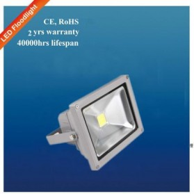 Taffware LED Floodlight 30W Color Temp 3000K without PIR - SYW-HFLFS-30WWW - Gray