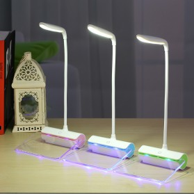 Novelty Lampu Meja Memo Tulis Message Rechargeable 6000-6500K - White/Green - 3