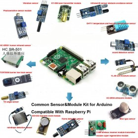 Raspberry Pi 3 & Raspberry Pi 2 Model B 16 Kinds of Sensor - 2