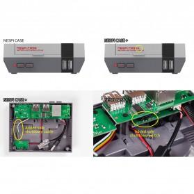 NESPI+ Classical Retro Nintendo NES Case Box for Raspberry Pi 3/2/B+ - 2