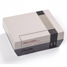 NESPI+ Classical Retro Nintendo NES Case Box for Raspberry Pi 3/2/B+ - 4