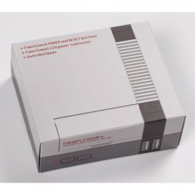 NESPI+ Classical Retro Nintendo NES Case Box for Raspberry Pi 3/2/B+ - 5